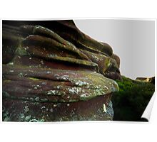 Natures Canvas: Rock Formations Poster