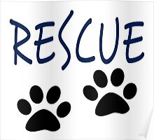 Rescue (blue) Poster