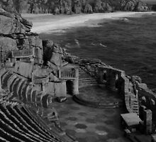 Minack Theatre by Mark Wilson