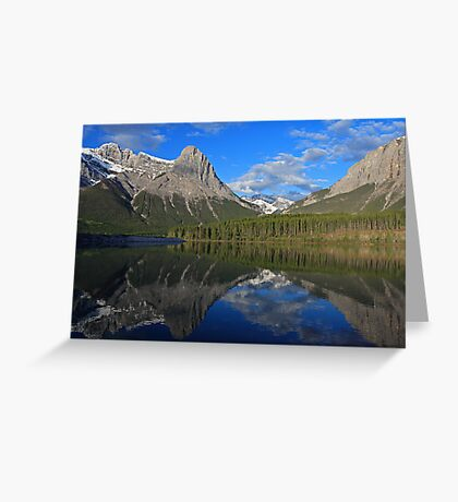 Ha Ling Peak Greeting Card