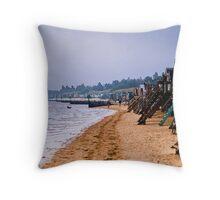 Wells-next-the-Sea Norfolk Throw Pillow