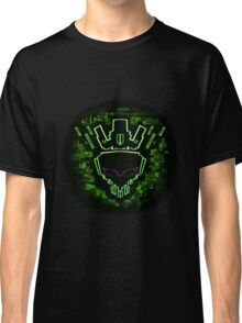 The Glitch King - Green Variant Classic T-Shirt