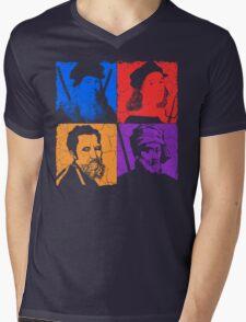 Renaissance Ninjas Mens V-Neck T-Shirt