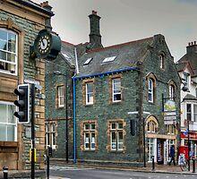 Slate Buildings in Keswick by Tom Gomez