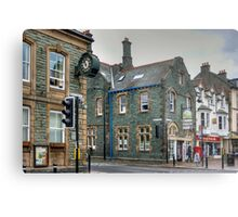 Slate Buildings in Keswick Metal Print