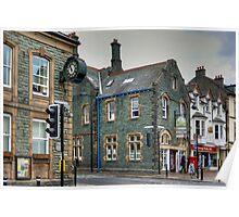 Slate Buildings in Keswick Poster