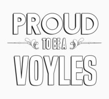 Proud to be a Voyles. Show your pride if your last name or surname is Voyles Kids Clothes