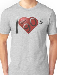 I love the 90s Logo Unisex T-Shirt