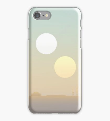 two suns iPhone Case/Skin