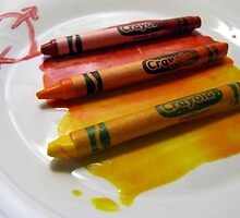 crayola meltdown by Leeanne Middleton