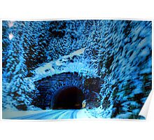 Mountain Pass Tunnel Poster