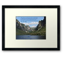 Isaiah 54:10 Framed Print