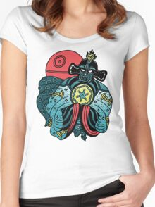 BIG TROUBLE IN LITTLE EMPIRE Women's Fitted Scoop T-Shirt
