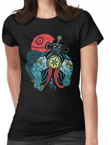 BIG TROUBLE IN LITTLE EMPIRE Womens Fitted T-Shirt
