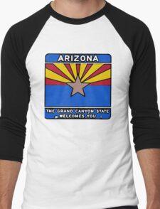 Arizona welcome sign Men's Baseball ¾ T-Shirt