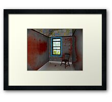 The Map Room Framed Print