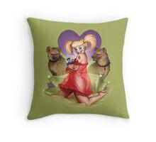 Don'tcha Wanna Rev Up your Harley? Throw Pillow