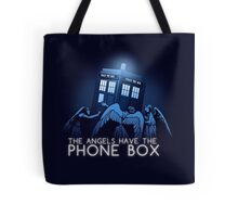 The Angels Have the Phone Box Tote Bag