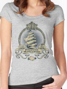 Prestige Worldwide Women's Fitted Scoop T-Shirt