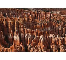 Bryce Canyon Castles Photographic Print