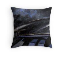 Bonestell's Spaceship (2003) Throw Pillow