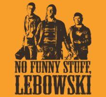 The Big Lebowski Nihilists No Funny Stuff Lebowski T-Shirt by theshirtnerd