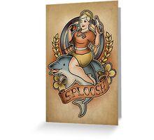 Sploosh! - Print Greeting Card