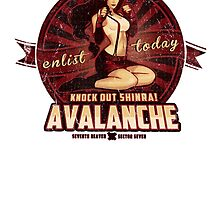 AVALANCHE Wants YOU! STICKER by MeganLara