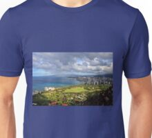Diamond Head Lookout, Honolulu, Oahu, Hawai'i, USA Unisex T-Shirt