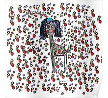 Giselle The Giraffe Poster