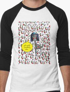 Giselle The Giraffe Men's Baseball ¾ T-Shirt