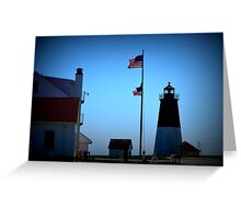 Point Judith - Lighthouse [1] Greeting Card