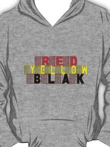 RED, YELLOW, BLAK [-0-] T-Shirt
