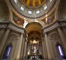 Eglise du dome -2 - Paris, France by Charuhas  Images