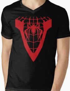 Miles (with Webbing) Mens V-Neck T-Shirt
