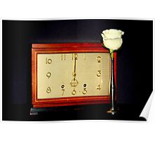 Mantle Clock Poster