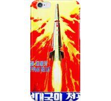 North Korean Propaganda - Rocket iPhone Case/Skin