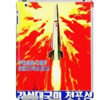 North Korean Propaganda - Rocket iPad Case/Skin