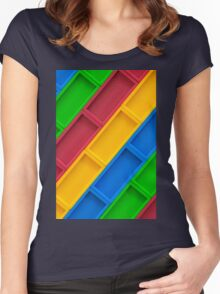 Dominos Women's Fitted Scoop T-Shirt