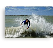 channel 11 5 10 Canvas Print