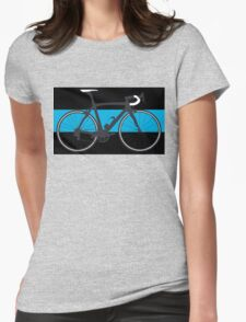 Bike Team Sky (Big - Highlight) Womens Fitted T-Shirt