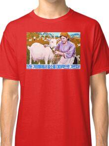 North Korean Propaganda - Goat Classic T-Shirt