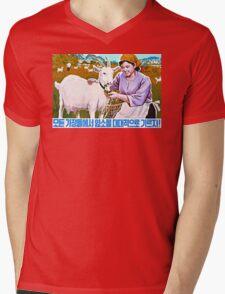 North Korean Propaganda - Goat T-Shirt