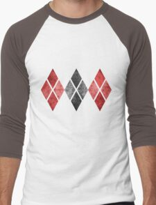 Harley Print Men's Baseball ¾ T-Shirt