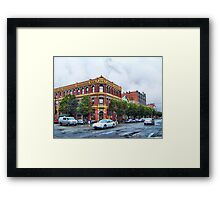 James - Hastings Building Framed Print