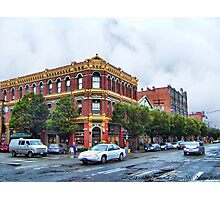 James - Hastings Building Photographic Print