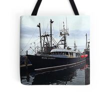 The Commercial Fleet at Point Judith RI [2] Tote Bag