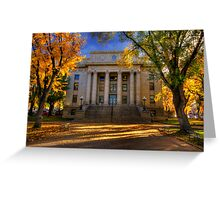 Colorful Justice Greeting Card