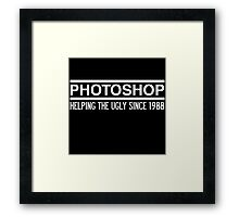 Photoshop Framed Print
