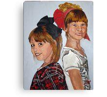 Hair Bows Canvas Print